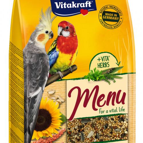 Качествена храна за кордела Vitakraft Premium Menu - 1кг