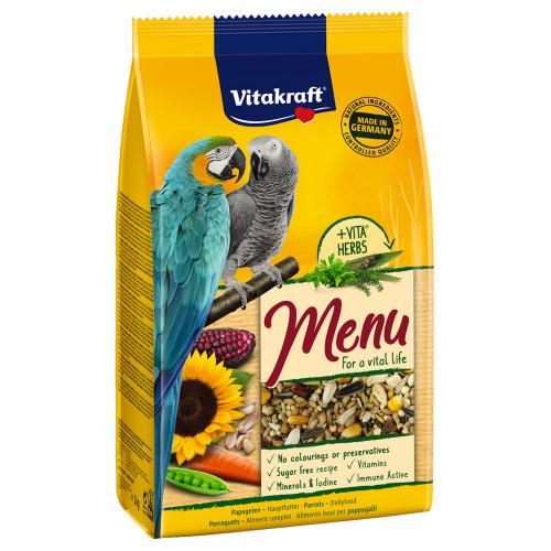 Качествена храна за жако и ара (макау) Vitakraft Premium Menu - 1кг