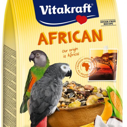 Качествена храна за големи папагали Vitakraft African - 750гр