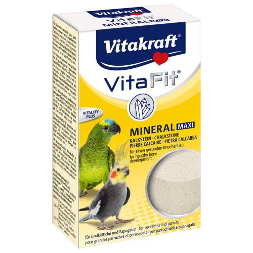 Камък с калций за големи и средни папагали Vita Fit® Mineral Maxi - 160гр