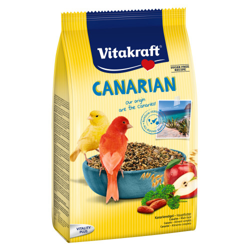 Основна храна за канарчета със супер премиум качество Vitakraft Canarian - 800гр