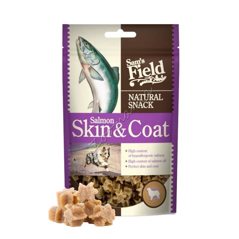 Лакомство Natural Snack Salmon Skin & Coat