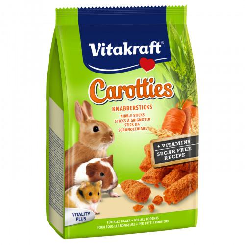 Хрупкави бисквитки за гризачи Vitakraft Carotties - 50гр