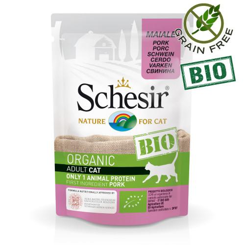 Schesir Cat Bio Pork - пауч за котки