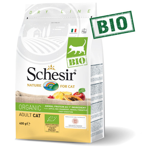 Schesir Cat Bio Maintenance - био храна за котки. Супер премиум качество!