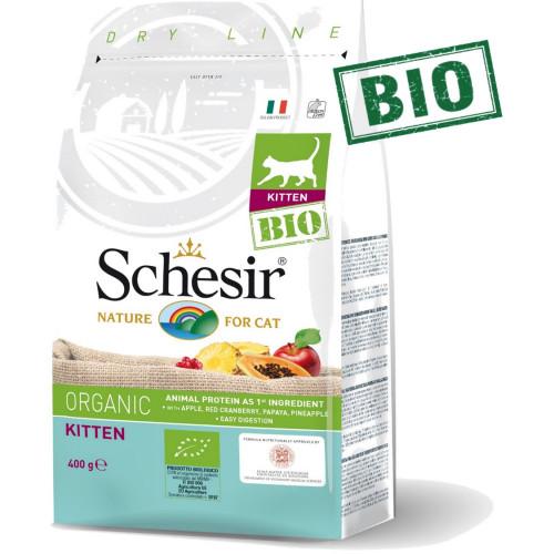 Schesir Kitten Bio - сертифицирана органична храна за отбити котенца. Супер премиум качество!