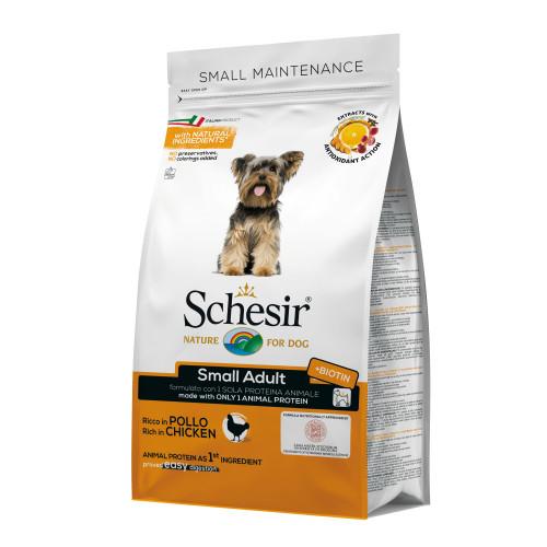 Schesir Small Dog with Chicken - суха храна за кучета