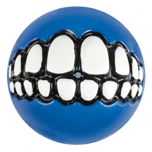 Най-веселата и усмихнатЪ синя топка за игра Grinz Ball - Ø49mm