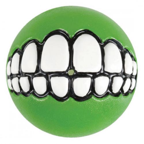 Най-веселата и усмихнатЪ зелена топка за игра Grinz Ball - Ø64mm