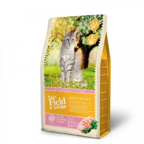 "Суха храна ""Cat Adult Chicken"" - 2.5 кг"