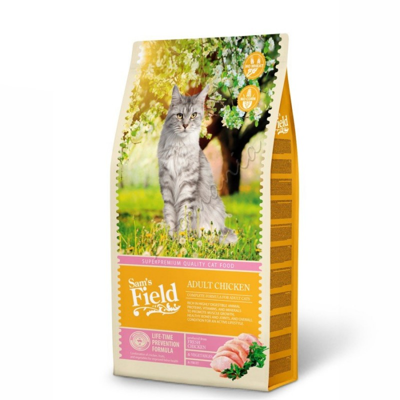"Суха храна ""Cat Adult Chicken"" - 7.5 кг"
