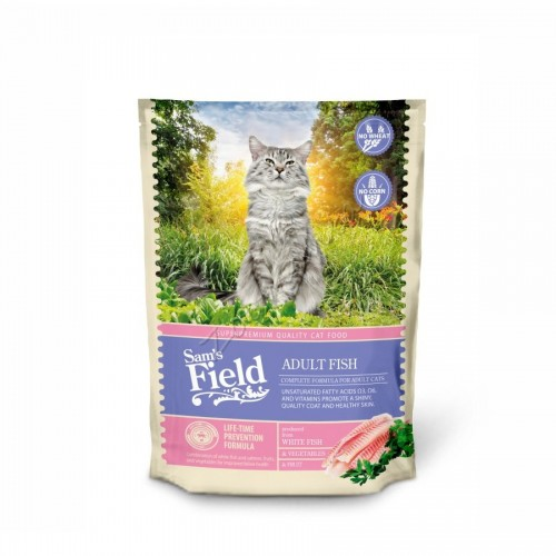 "Суха храна ""Cat Adult Fish"" - 0.400 кг"