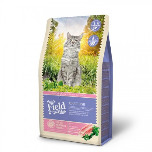 "Суха храна ""Cat Adult Fish"" - 2.5 кг"