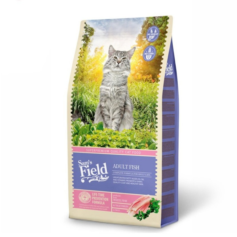 "Суха храна ""Cat Adult Fish"" - 7.5 кг"