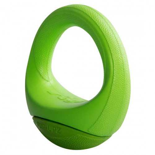 Rogz Pop-Upz 120mm - супер забавна кучешка играчка (зелена)
