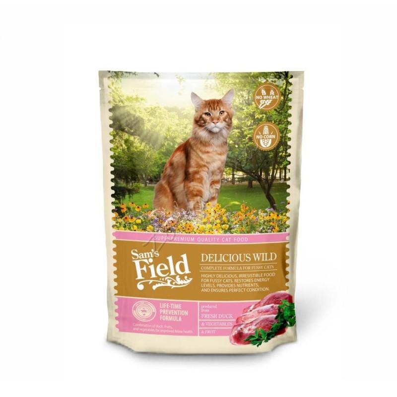 """Суха храна """"Cat Delicious Wild"""" - 0.400 кг"""