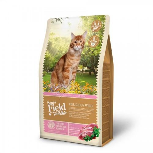 """Суха храна """"Cat Delicious Wild"""" - 2.5 кг"""