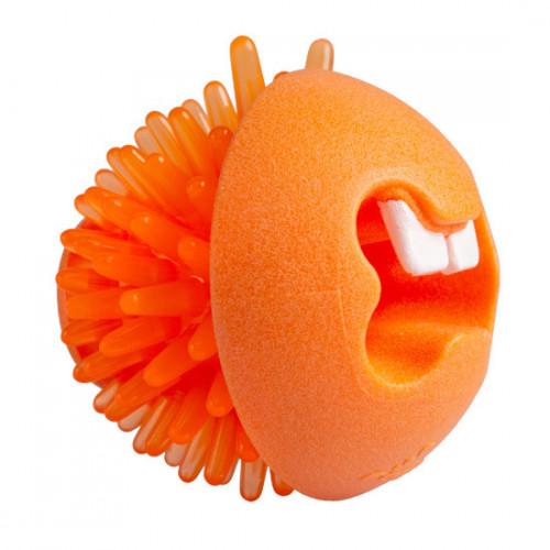 Rogz Fred Ø64mm - оранжева топка за лакомства. Супер занимавка за всяко куче!
