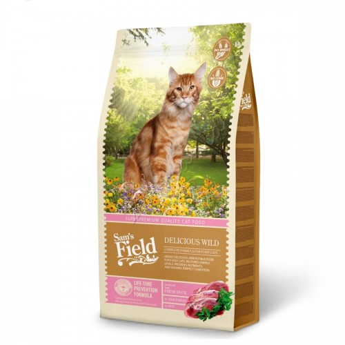 "Sam's Field ""Cat Delicious Wild"" - 7.5 кг"