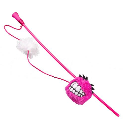 Rogz Catnip Fluffy Grinz Stick - най-усмихнатата въдичка за котки