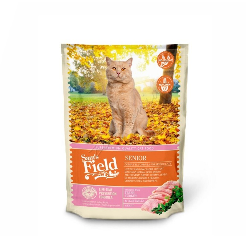"Суха храна ""Cat Senior"" - 0.400 кг"