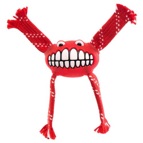 Най-усмихнатата кучешка играчка - Rogz Flossy Grinz 165mm