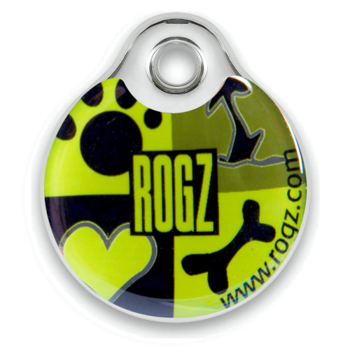 Rogz ID Tag - Lime Juice