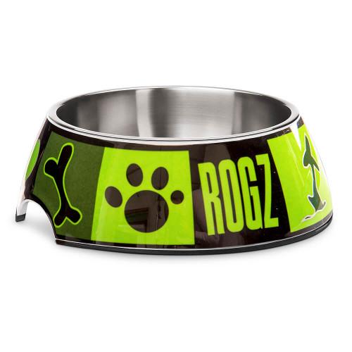 Кучешка паничка за храна и вода Rogz Bubble Bowlz - колекция Lime Juice