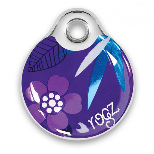 Rogz ID Tag - Purple Forest