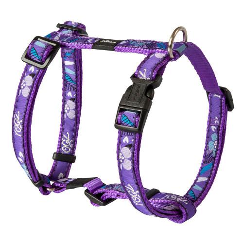 Класически нагръдник - модна колекция за кучета Rogz Purple Forest