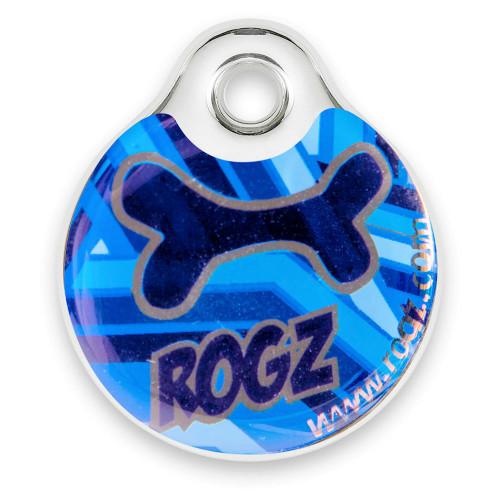 Rogz ID Tag - кучешки медальон за нашийник от модната колекция за кучета Navy Zen