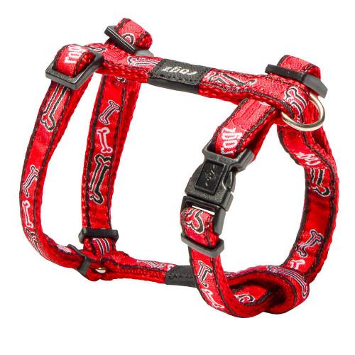 Класически кучешки нагръдник - модна колекция Rogz Red Bones