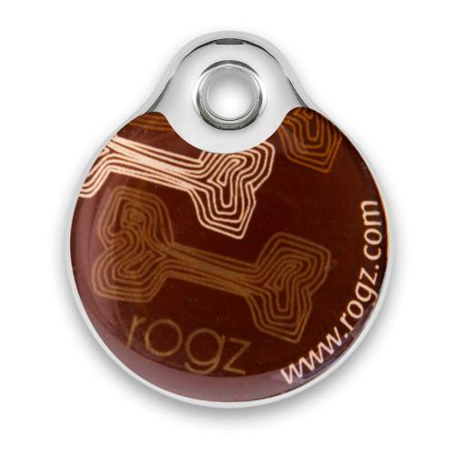 Rogz ID Tag - медальон за кучешки нашийник от модната колекция Mocha Bone