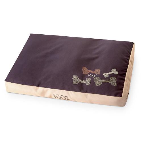 Rogz Flat Podz дюшек за кучата - модна колекция Mocha Bones