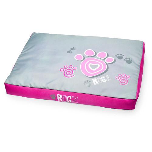 Rogz Flat Podz дюшек за кучата - модна колекция Pink Paw