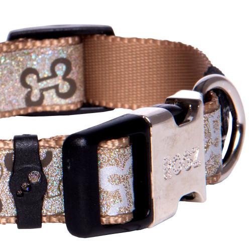Мода за кучета Rogz Trendy Collar Brown Bones