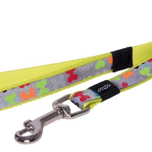 Мода за кучета Rogz Trendy Lead Multi Bones