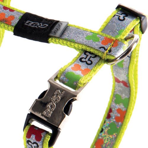 Мода за кучета Rogz Trendy H-Harness Multi Bones