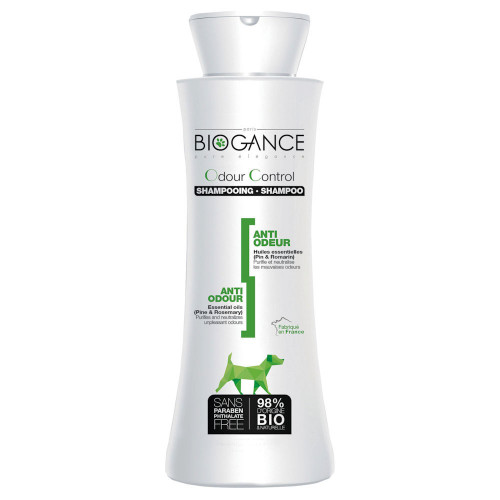 Контролиращ миризмите шампоан за кучета Biogance Odour Control Shampoo - 250ml