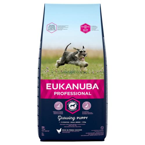 Храна за кутрета от мини породи Eukanuba Puppy Small - 18кг