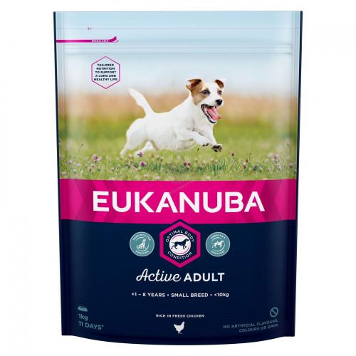 Суха храна за кучета от мини породи Eukanuba Adult Dog Small - 1кг