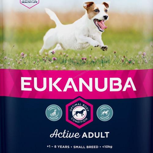 Суха храна за кучета от дребни породи Eukanuba Adult Dog Small - 3кг