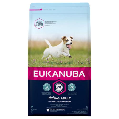 Eukanuba Adult Dog Small - 3кг