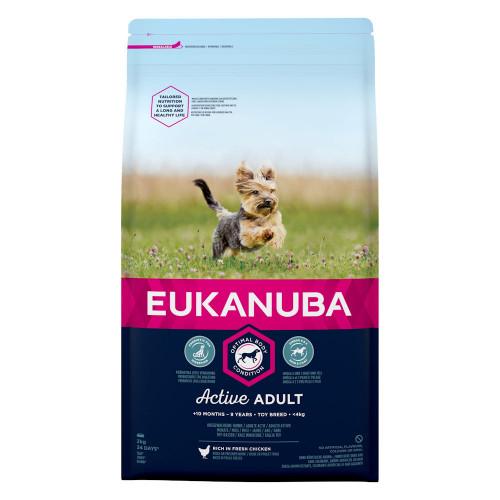 Храна за кучета от породи играчки Eukanuba Adult Dog Toy - 2кг