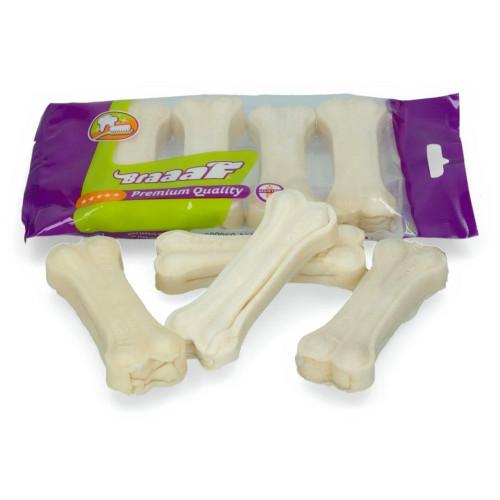 Лакомство за кучета - BRAAAF Pressed Bone 4 x 9см