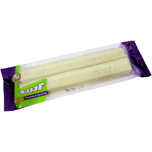 Пресовани кучешки солети за дълга занимавка BRAAAF Pressed Stick - 2 x 25см
