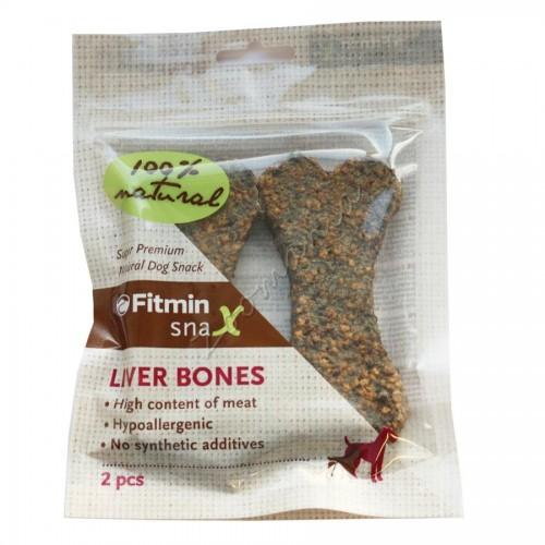 Лакомство SNAX Liver Bones – 2 бр.