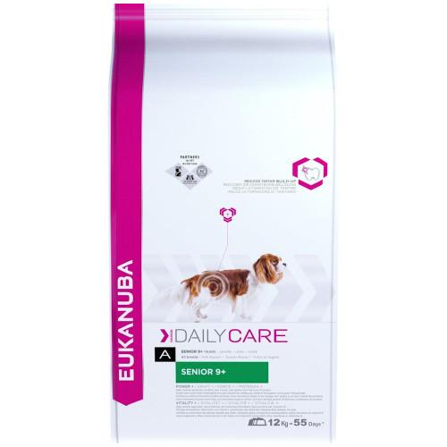 Храна за възрастни кучета от всички породи Eukanuba Daily Care Dog Senior 9+ (12кг)