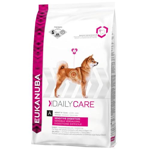 Храна за кучета с чувствителен стомах Eukanuba Daily Care Dog Sensitive Digestion (2.5кг)