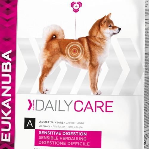Храна за кучета с чувствителен стомах Eukanuba Daily Care Dog Sensitive Digestion 12.5кг + 4кг гратис